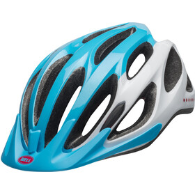 Bell Coast Casco Mujer, virago bright blue/raspberry/white